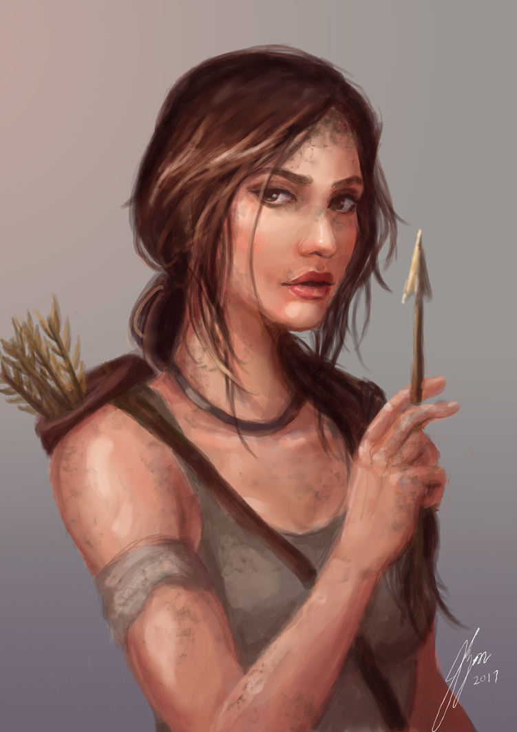 Croft by lyonu