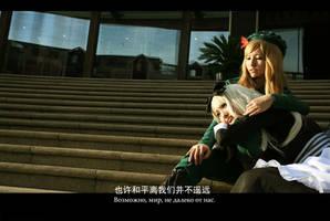 APH cosplay  hungary  Hetalia by loonglenn