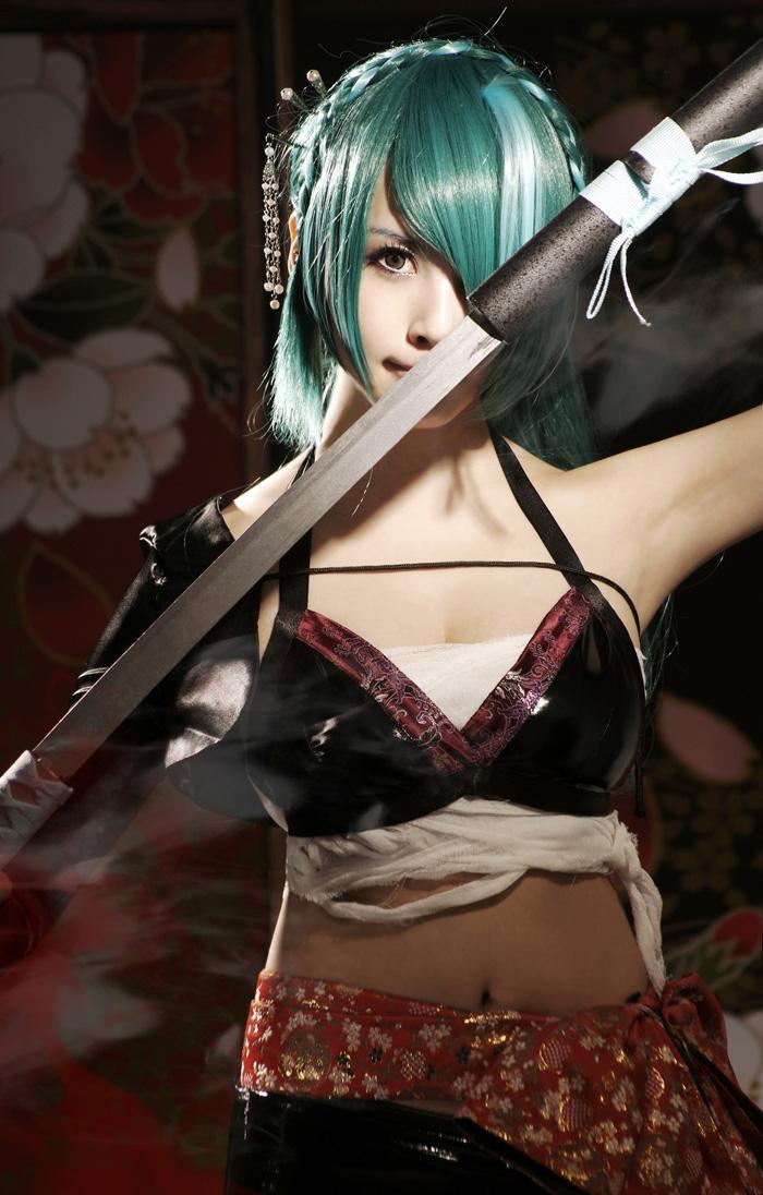 Knife:hatsune miku by loonglenn