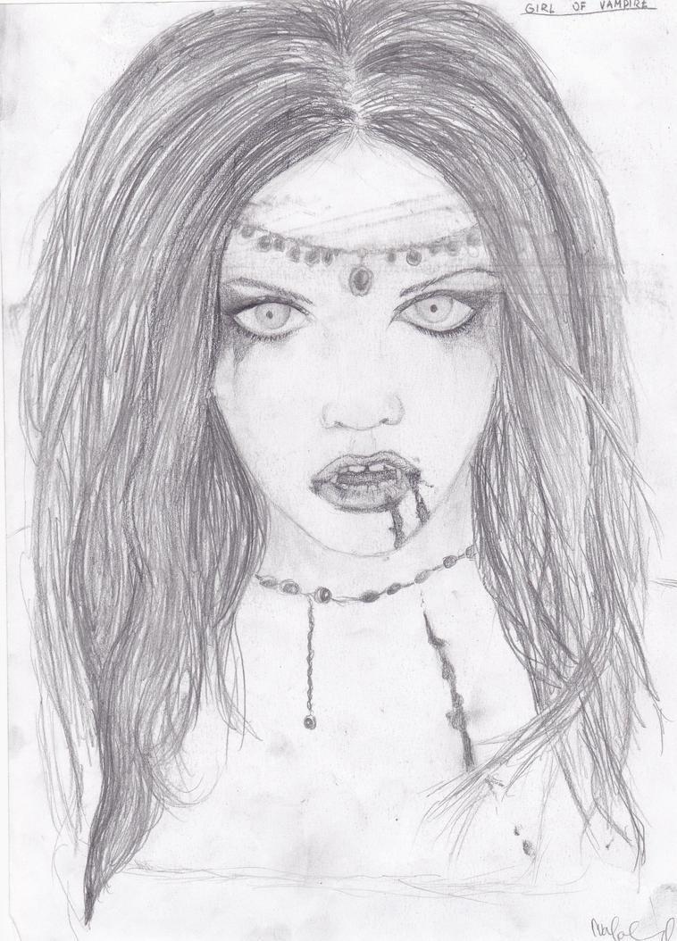vampire girl sketches wwwimgkidcom the image kid has it