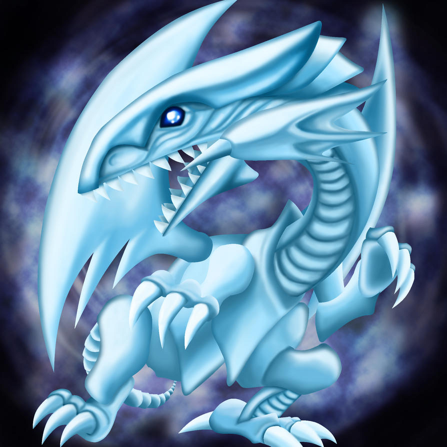 Blue-Eyes White Dragon by Lewnartic on DeviantArt