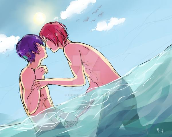 the ocean by iiceegreentea