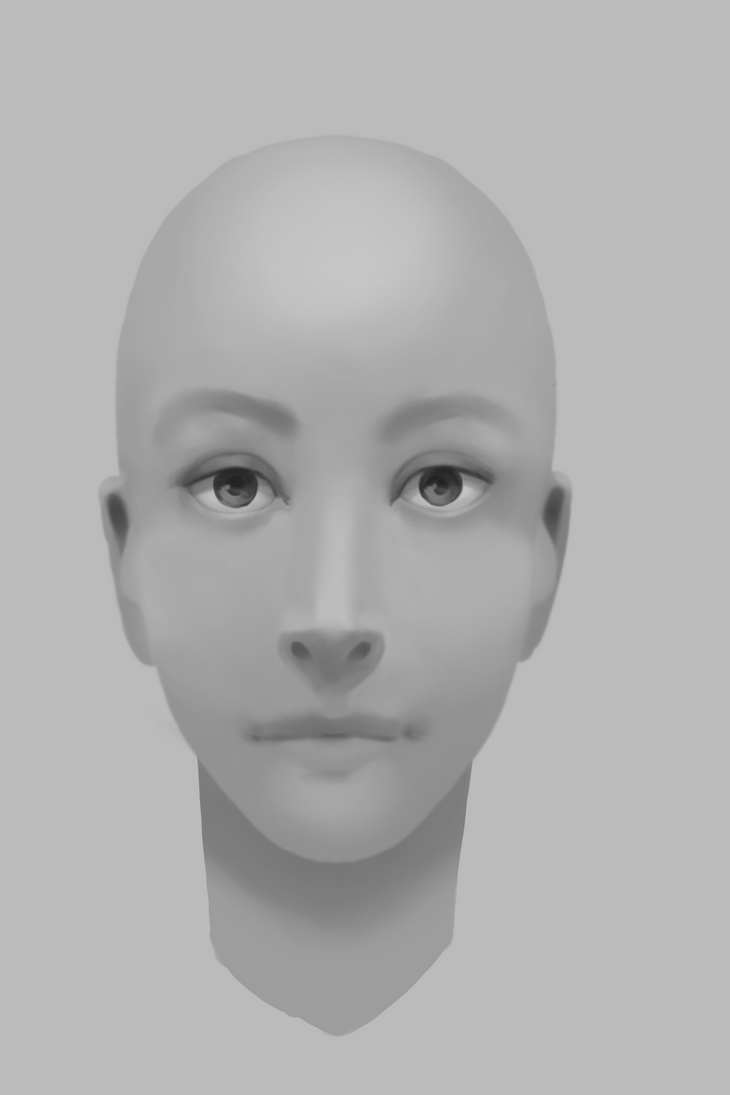 19th Mar 2017 - Face Study by coderie