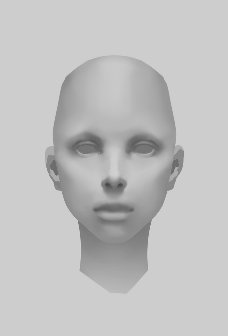 24th Mar 2017 - Face Study WIP by coderie