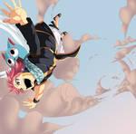 Fairy Tail 374-Natsu and Happy