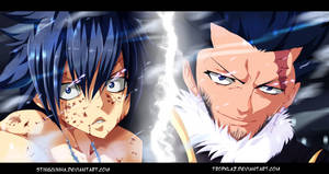 Fairy Tail 386-Gray and Silver