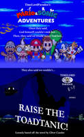 Mario and Sonic Adventures: Raise the Toadtanic! by TimeLordParadox