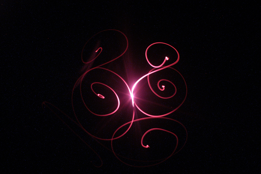 Light Painting  Swirls by amdinunzio