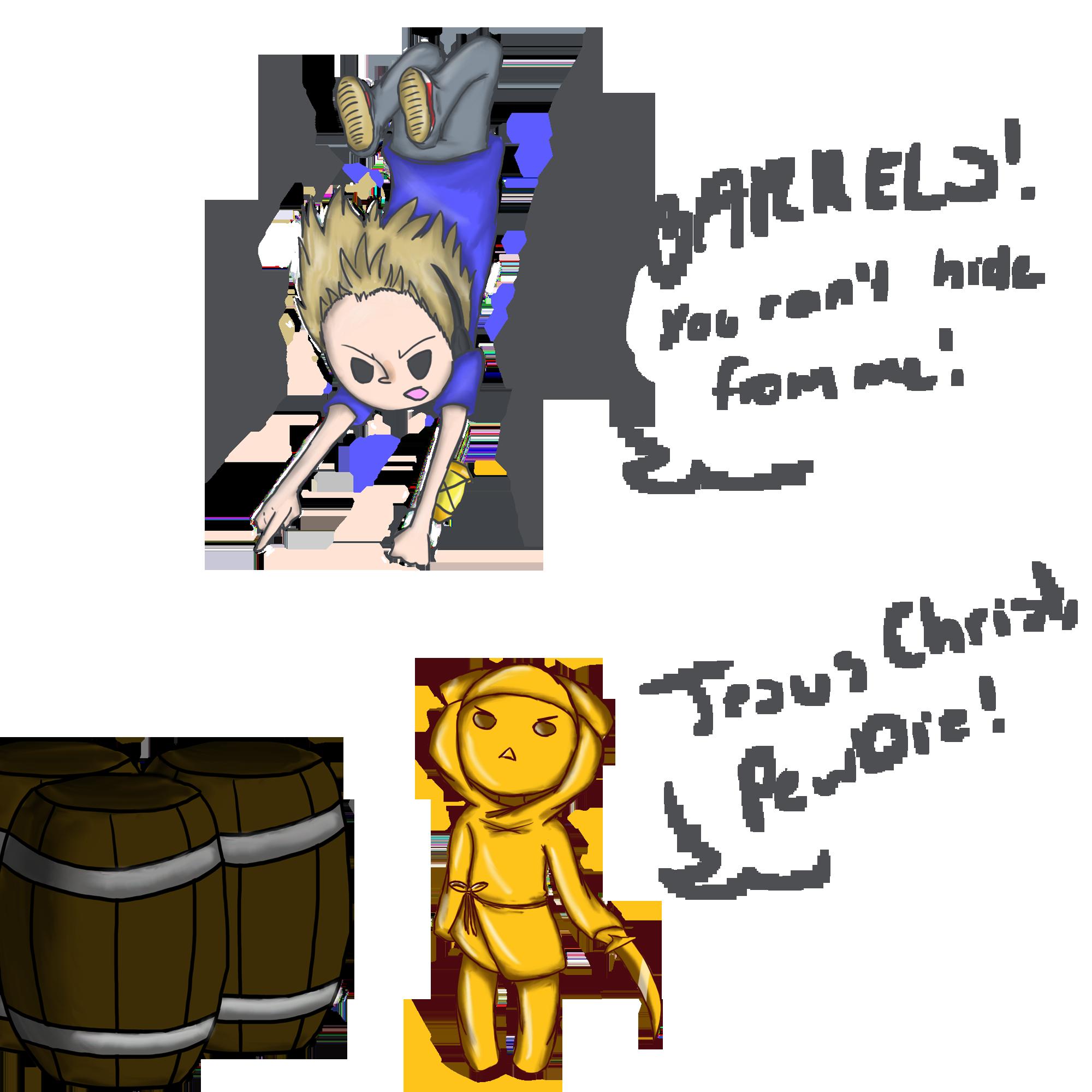 BARRELS! -PewDiePie fanart- by HeeeeresIzzy