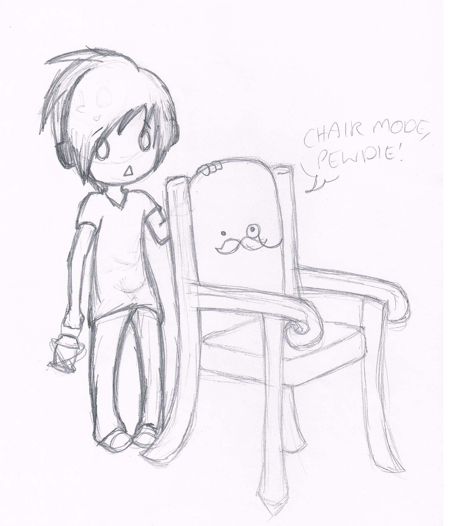Chair Mode, Pewdie! by HeeeeresIzzy