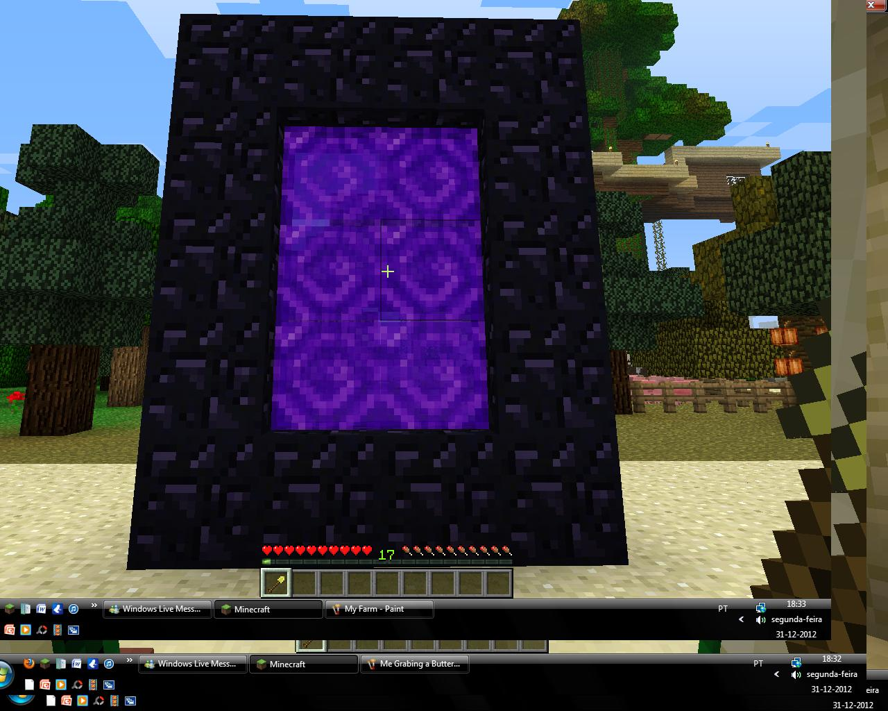 how to make a end portal with minecraft 1.10.2