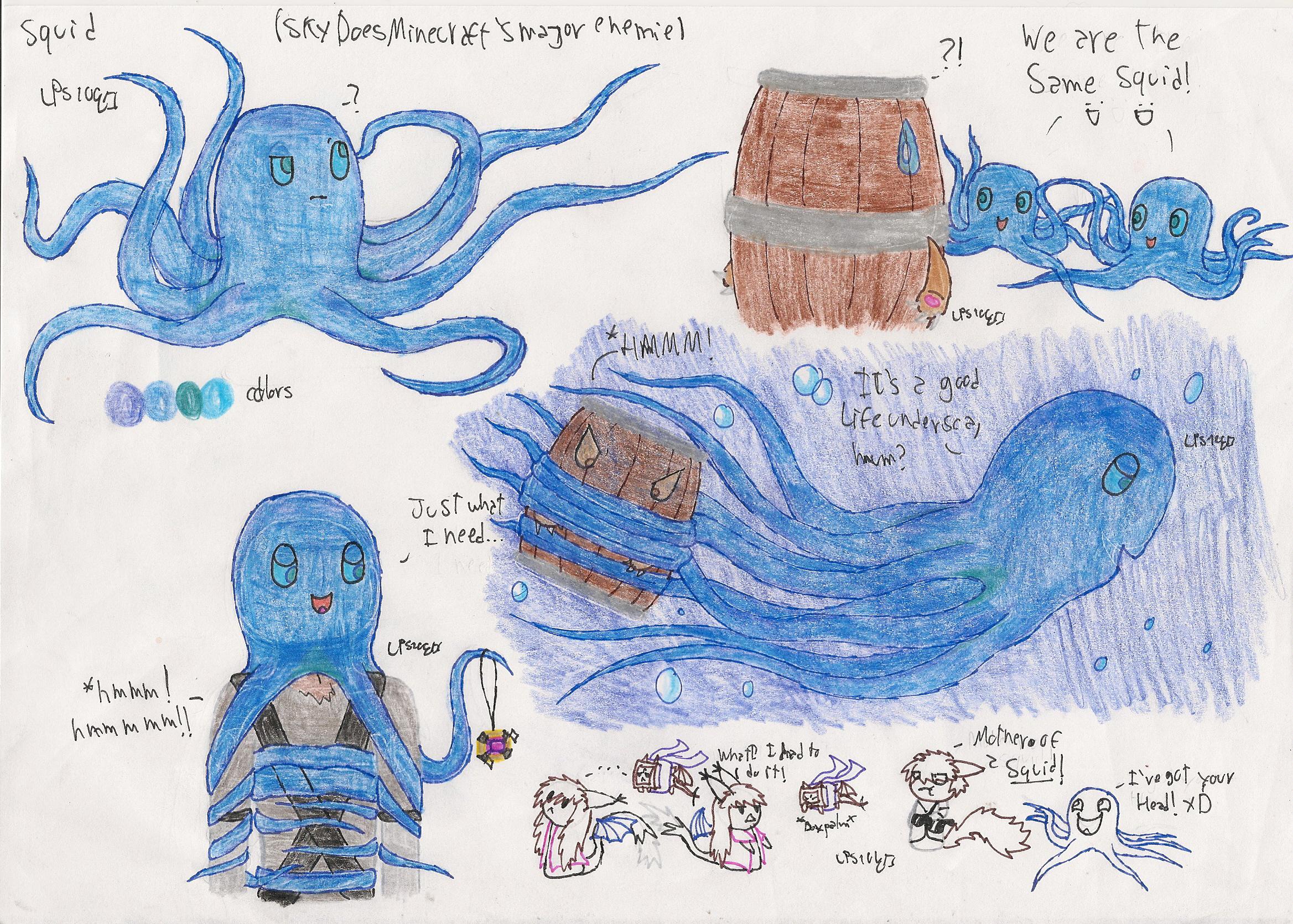 Squid Skydoesminecraft's