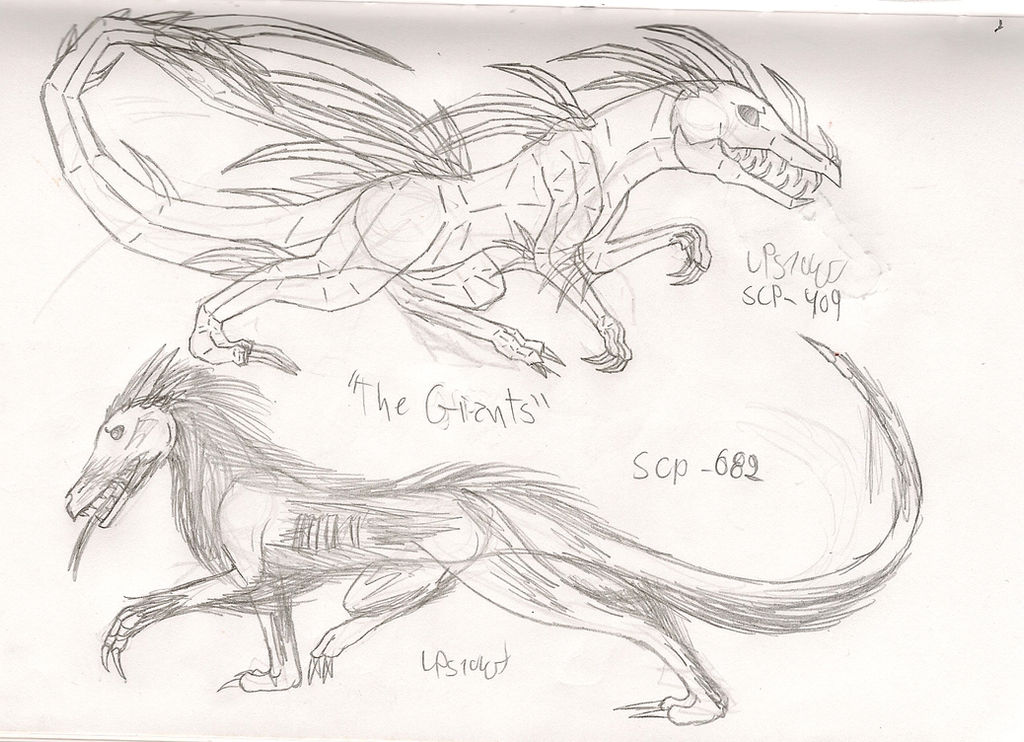 Concept/Sketches: SCP-409 and SCP-862 by LPS100 on DeviantArt