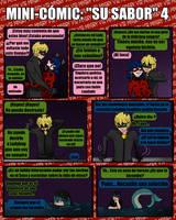 Ladybug Mini-Comic: Su Sabor 4 by Miyery