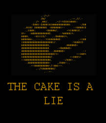 The Cake is a Lie by Avaras