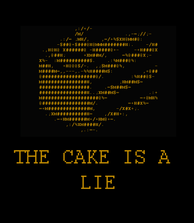 Is The Cake A Lie Or Not