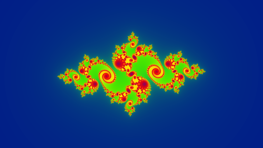 Julia set c=0.763069-0.094691i by Matplotlib