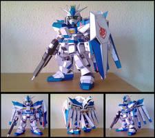 Gundam SD: RX-92-2 Hi-Nu by Destro2k