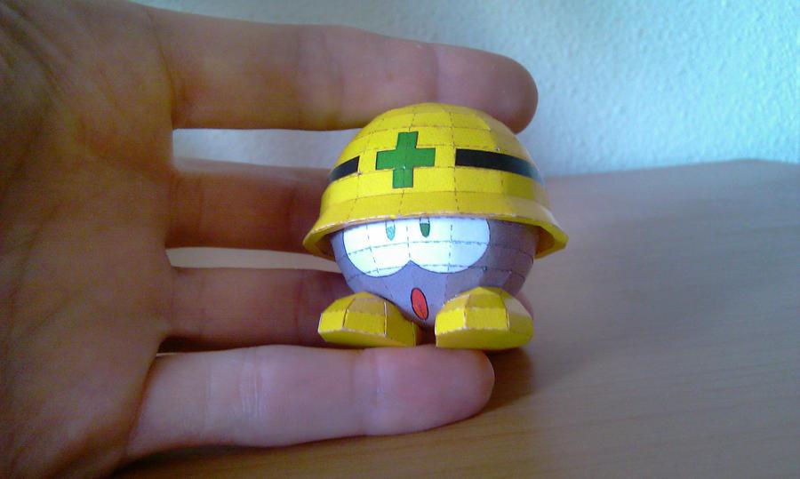 Megaman - Mettaur by Destro2k