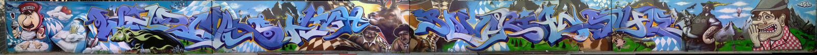 Graffiti: Bayern des san mir by Destro2k