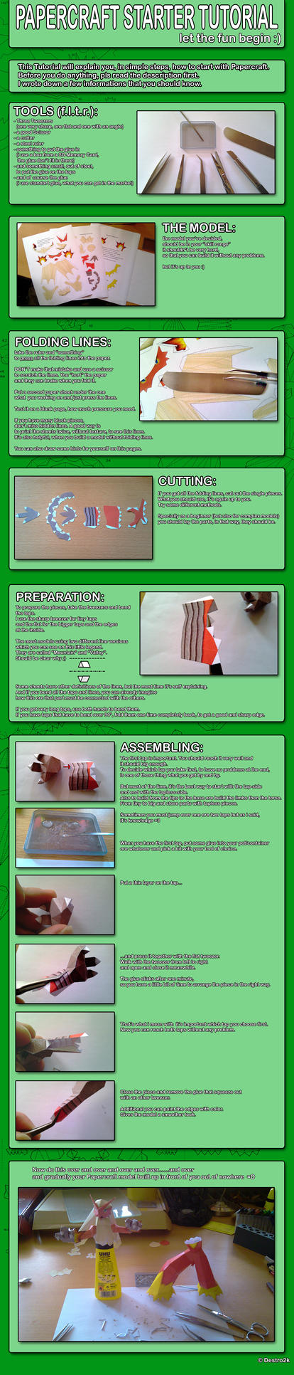 Papercraft Starter Tutorial by Destro2k