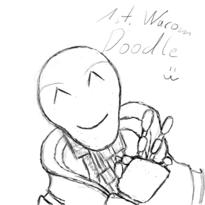 1st wacom doodle by Destro2k