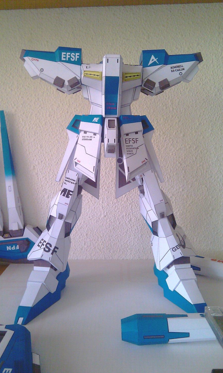 RX-93: actual status by Destro2k