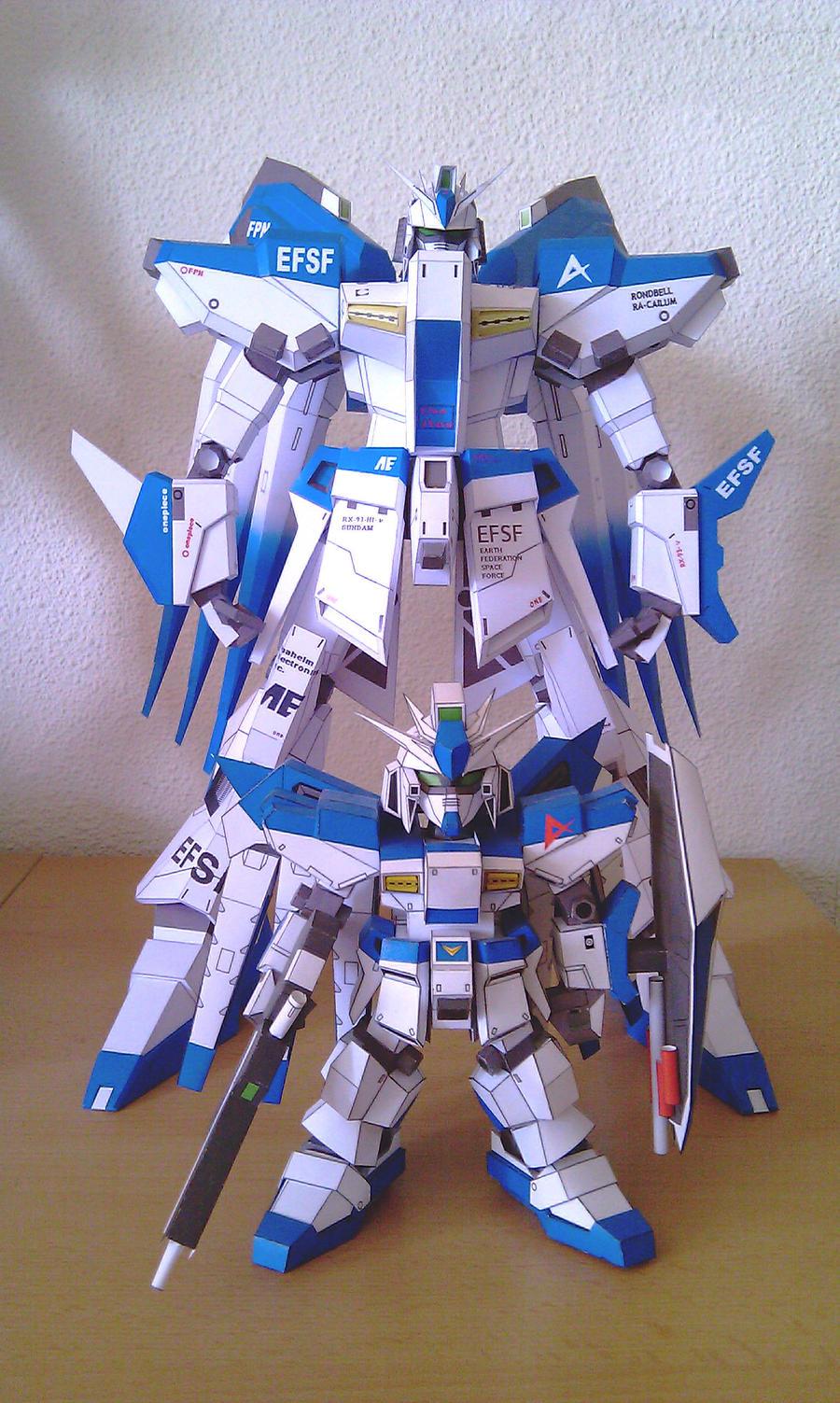 Gundam RX-93-2 Hi-Nu V2 - f by Destro2k