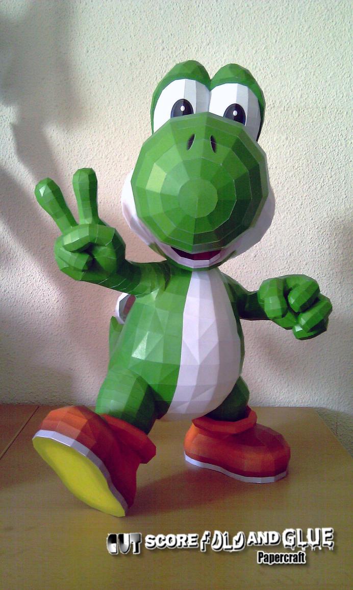 Yoshi - b by Destro2k