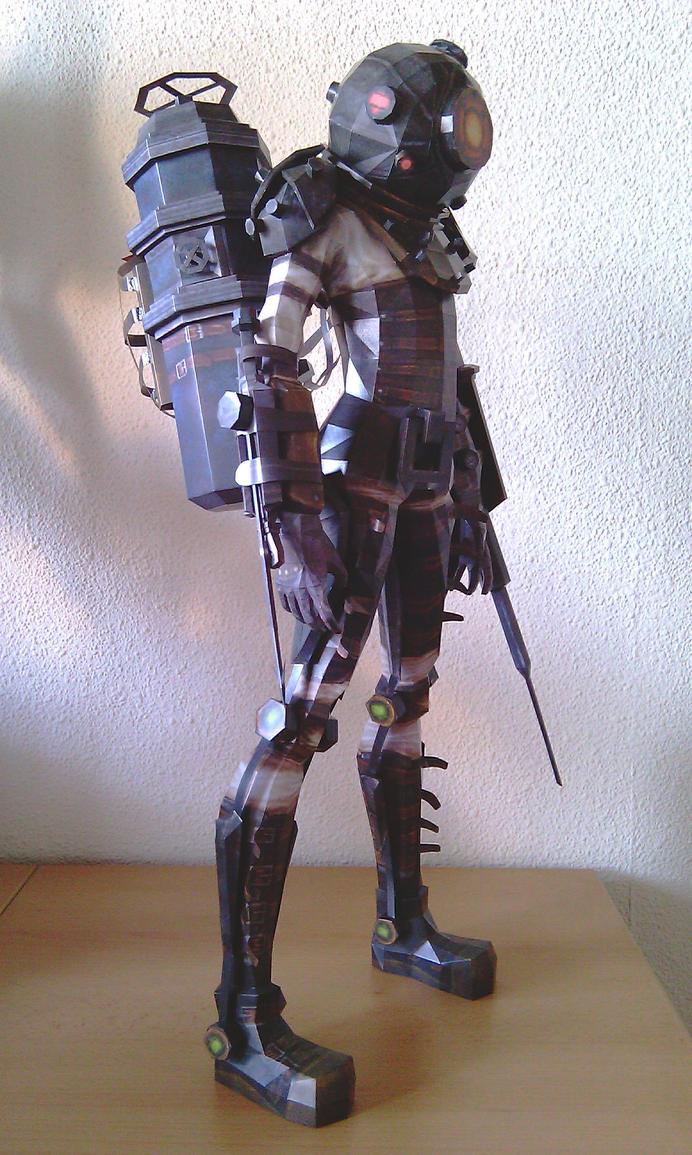 BioShock 2 - Bigsister - f by Destro2k