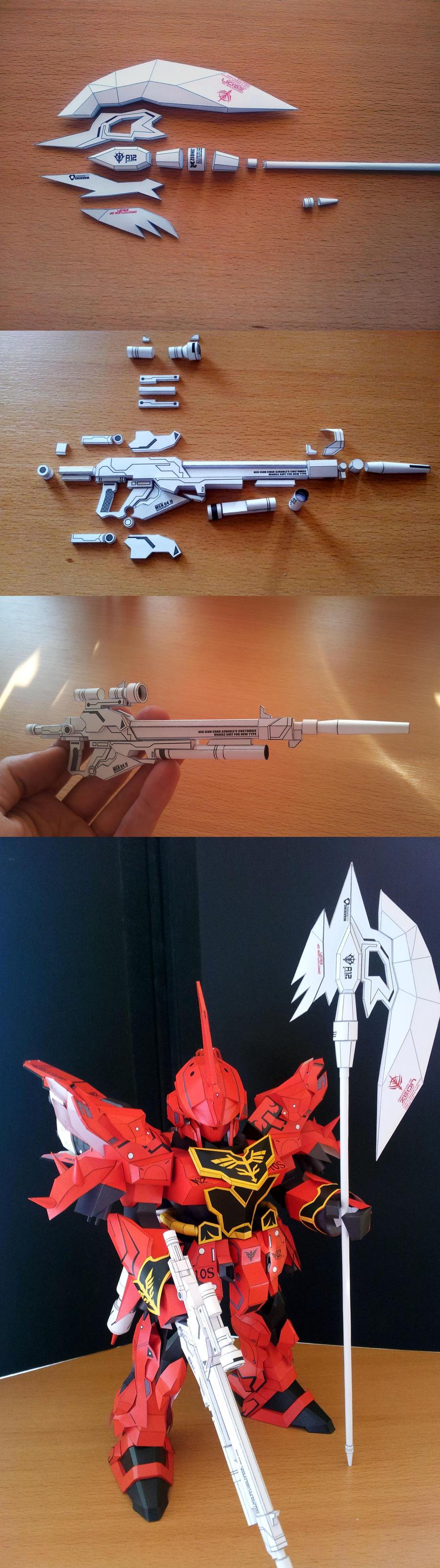 Sinanju Weapon testbuilds by Destro2k