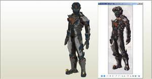 Dead Space 2 Advanced Suit WIP