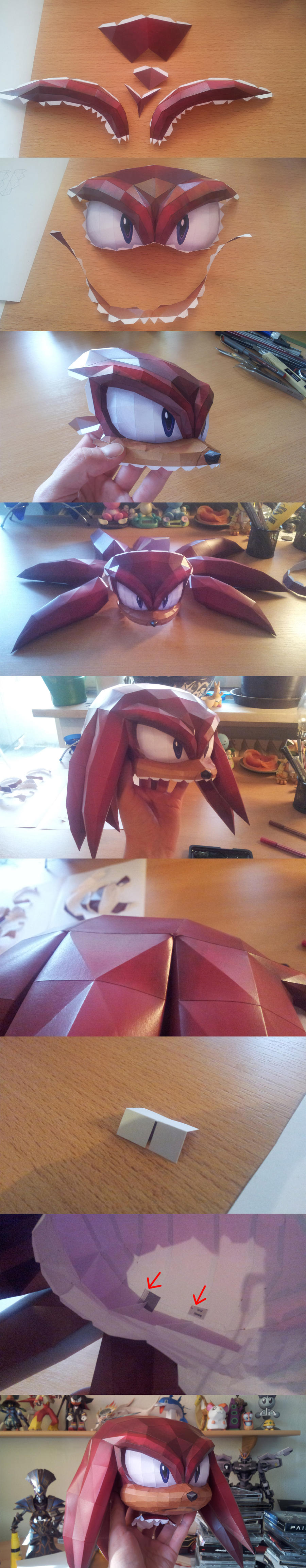 Knuckles - Head (+tipps) by Destro2k
