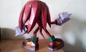 Knuckles the Echidna - c