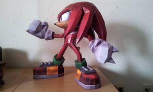 Knuckles the Echidna - b