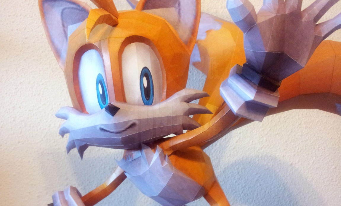 Tails the Fox - b by Destro2k