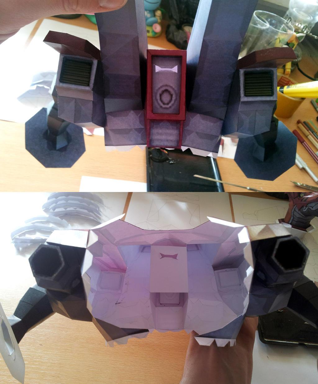 Wargrowlmon - Antenna and Torso by Destro2k