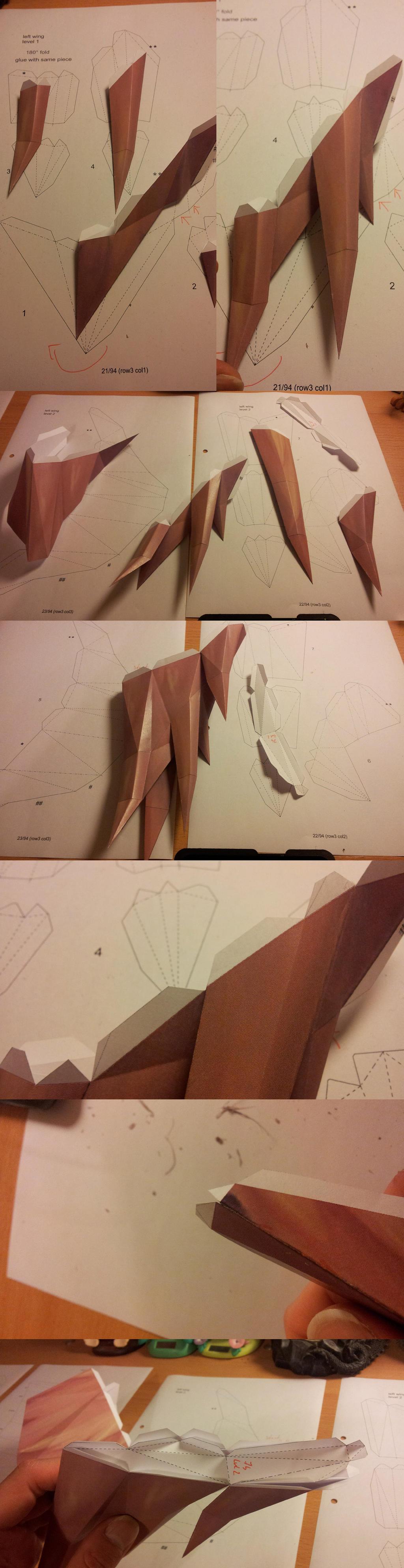 Avian Defender - wings part 1 of 3
