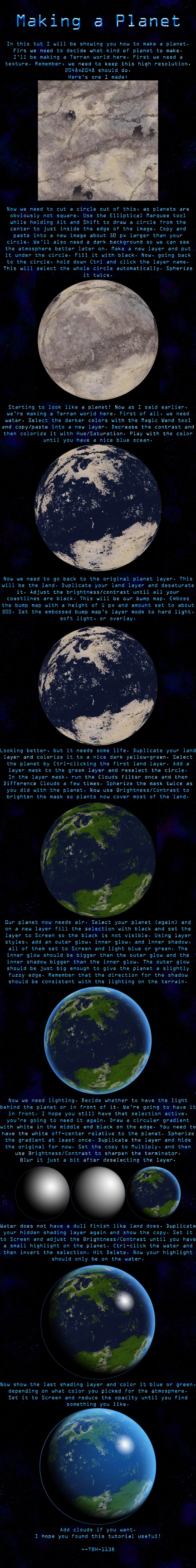 Terran Planet Tutorial by TBH-1138 on DeviantArt