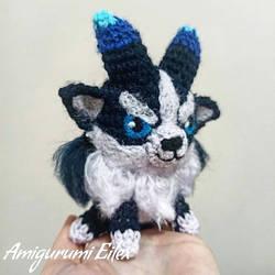 Furyhorn amigurumi