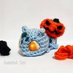 Halloween Bulbasaur by AmigurumiEilex