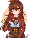 Amber fanart~ [Genshin impact]