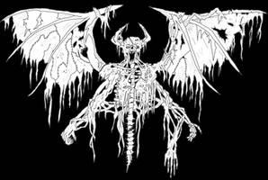 skin demon by ayillustrations