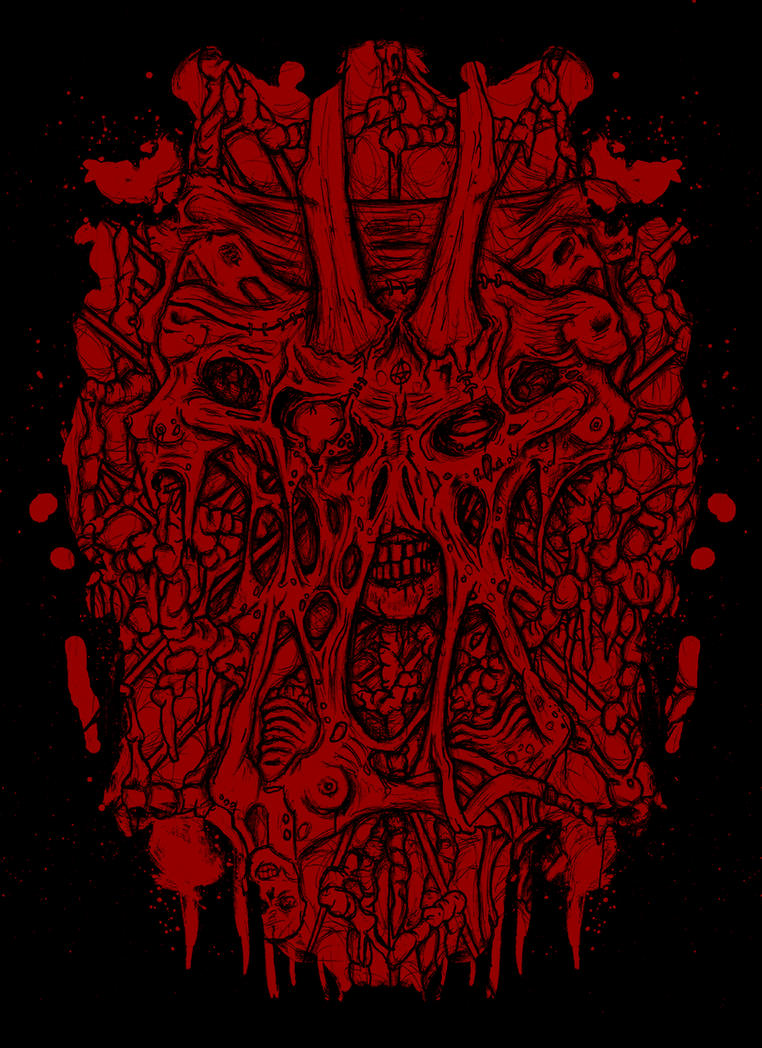 blood stein by ayillustrations