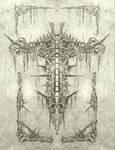 skull cross print
