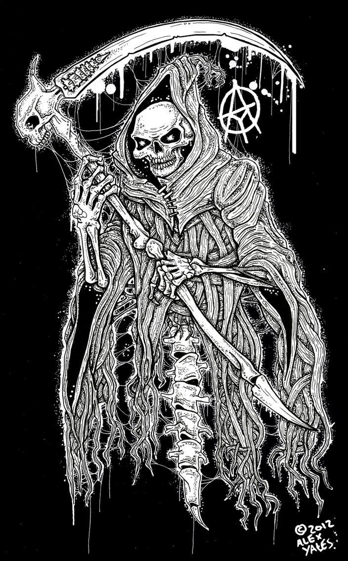 DEATH by ayillustrations