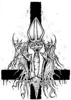 Demon Pope by ayillustrations