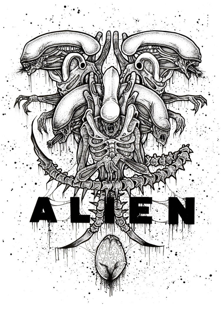 Alien by ayillustrations
