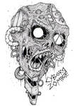 Robot Cyborg by ayillustrations
