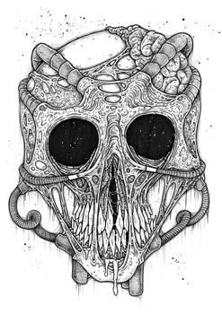 zombimechanical Skull